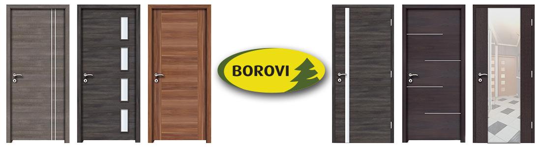Borovi ajtópanelek